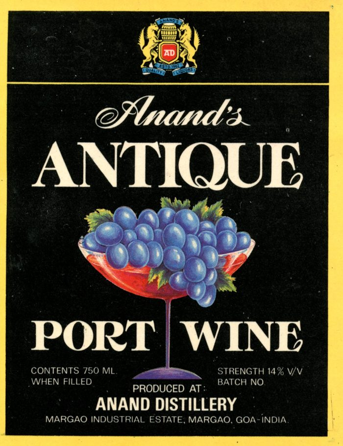 Port wine - no annata - Anand Distillery