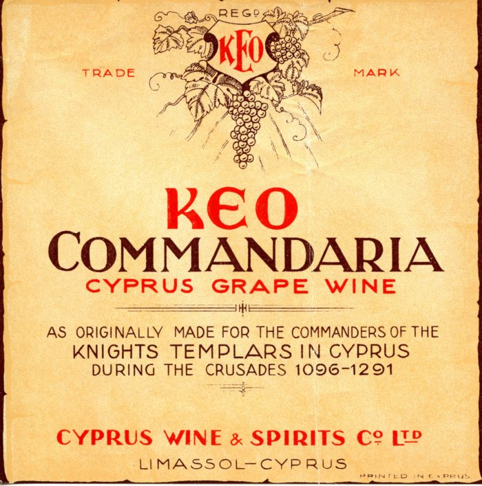 Keo Commandaria - no annata - Cyprus wine & Spirits