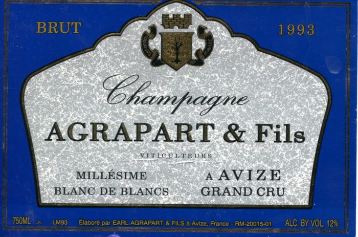 Champagne - 1993 - Agrapart